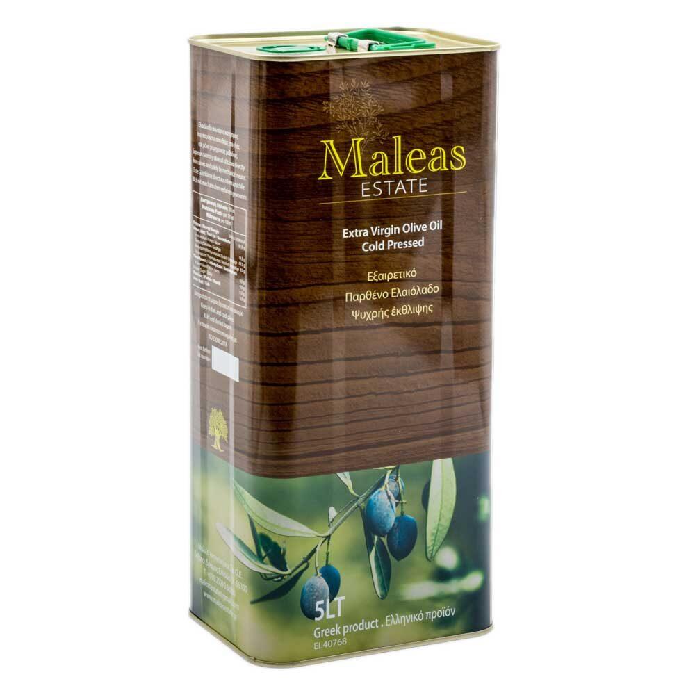 Extra Virgin Olive Oil Maleas Estate 5L